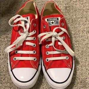 Red Converse Allstars